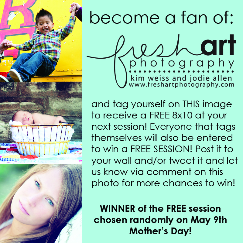 Check out our facebook fan page for a great deal fresh for Fresh art photography facebook