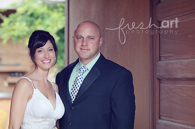 Leah and Billy and Ashton | St. Louis Wedding Photographers