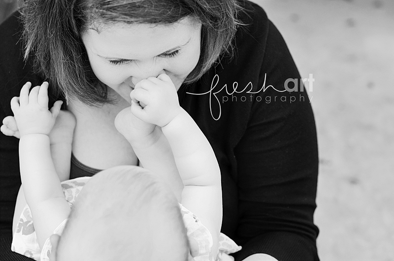 Momma and Moira   St. Louis Lifestyle Photography